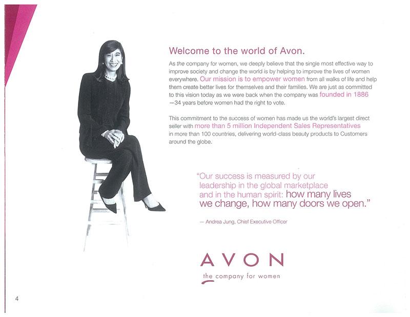 Avon Andrea Ad